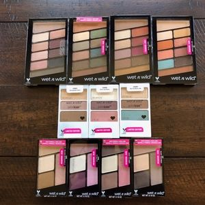 NEW! Wet n Wild  Eye Shadow Bundle